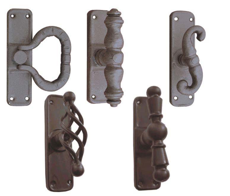 Herrajes puertas calvo for Herrajes manijas para puertas