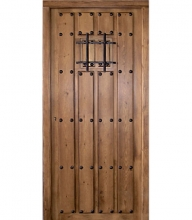 Puertas de exterior en madera puertas calvo for Puertas pequenas exterior