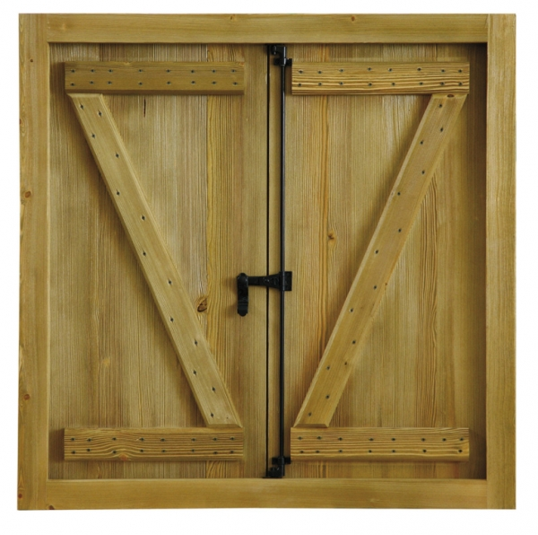 Ventana rustica mod3 puertas calvo - Herrajes rusticos para puertas ...