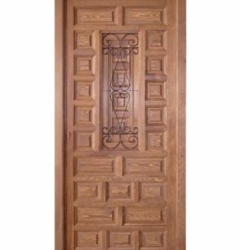 Puertas exteriores de madera puertas calvo - Puertas para exteriores ...