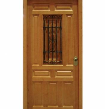 Puertas exteriores de madera puertas calvo - Puertas de madera exteriores ...