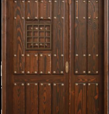 Puertas interiores exteriores y ventanas de madera for Puertas rusticas de madera interior