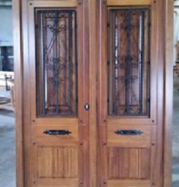 Puerta rustica modelo r 4 puertas calvo - Puertas rusticas de exterior segunda mano ...