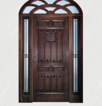 puerta rustica modelo r