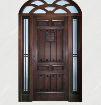 Puertas exteriores de madera puertas calvo for Modelo de puertas de madera exteriores
